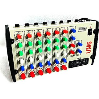STRANGER 6 CHANNEL AUDIO ECHO MIXER WITH USB