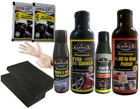 Amwax Car and Bike Care Kit
