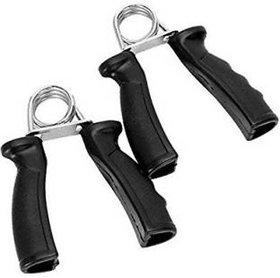 VK  Wrist Muscle Develope Finger Exercise Equipment Hand Grip/Fitness Grip  (Black)