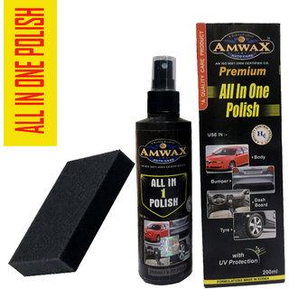 Amwax All In One Duplex Packing 200 Ml Car And Bike