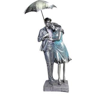 Paras Magic Couple Showpiece with Umbrella(4.25x3.75x16)