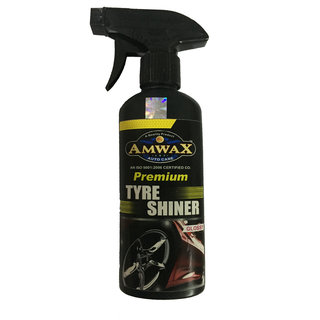 Amwax Tyre Shiner 500 Ml For Car and Bike