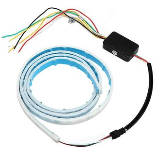 Car Dicky Light / Trunk light / Flow LED Strip / Boot LED DRL Strip light (works with all cars)