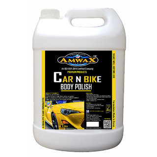 Amwax Car And Bike Body Polish (Can Pkg ) 5 Litres