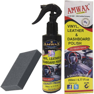 Amwax Dashboard Polish 200 Ml For Car And Bike