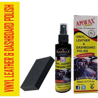 Amwax Dashboard Polish 200 Ml For Car And Bike
