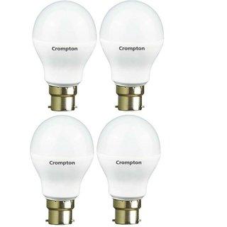 Crompton 5-Watt LED Bulb (Pack of 4, Cool Day Light)