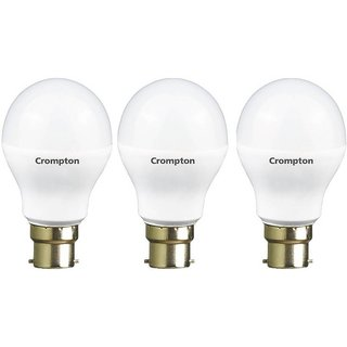 Crompton 12-Watt LED Bulb (Pack of 3, Cool Day Light)