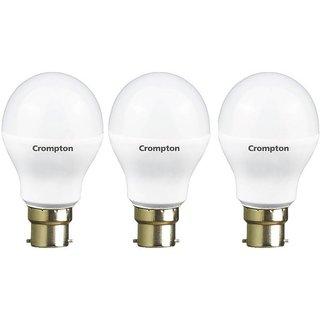 Crompton 12Watt + 14Watt LED Bulb (Pack of 3, Cool Day Light)