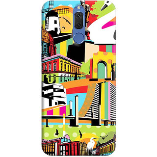 FABTODAY Back Cover for Huawei Honor 9i - Design ID - 0675