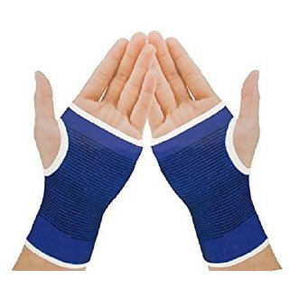 Lovato Palm Wrist Glove Both Hand Grip Support Protector Brace Sleeve Support (Free Size)