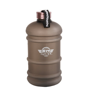 Large Water Jug Capacity 2.2L 75oz Large Leakproof BPA Free Water Bottle with stainless steel SPARKLING Rose Gold cap