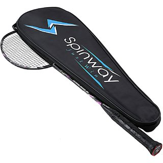 Spinway Badminton Extreme Woven M2 Racket  Hot Melt + Woven Greater strength and stability (With cover bag )