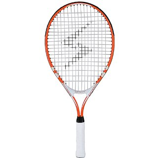 Spinway Mini tennis thunder racket for kids age 6-8 yr | lightweight with cover bag