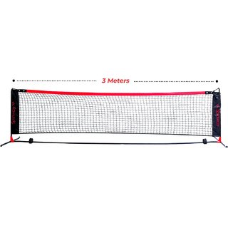 Spinway Portable mini tennis net 3 meter with carry bag for indoor & outdoor use Strong and lightweight