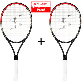 Spinway Gold Tennis Racket (Combo pack)