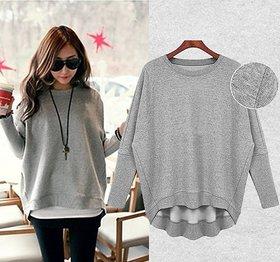 Fabrange Grey Fleece Sweatshirt