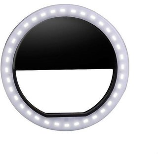 Selfie enhancing ring light with 3 level of brightness for photography videography video calling ring flash