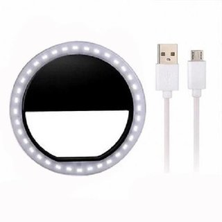 Portable Selfie Beauty LED ring mobile Flash light