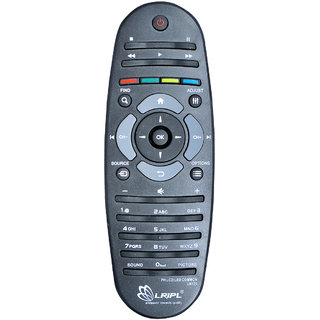 LRIPL UN126 Universal Philips Smart LED LCD TV Remote Controller (Black)