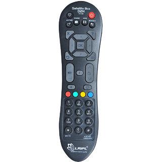 LRIPL VC125 Videocon D2H Remote Controller ( Black)