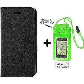 Samsung Galaxy J2 / Cover For Samsung J2 - BLACK With Underwater Pouch Phone Case