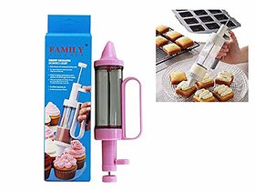 AVMART Desert Decorator Plus Cake Decorating Tool, Cake Icing Tool for Cake, Cup Cake, Cookies with 6 Different Design
