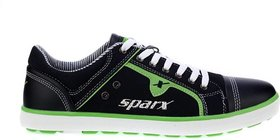 Sparx SM-229 Casuals For Men (Black Green)