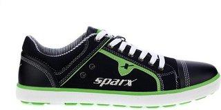 Sparx SM-229 Casuals For Men (Black Green)