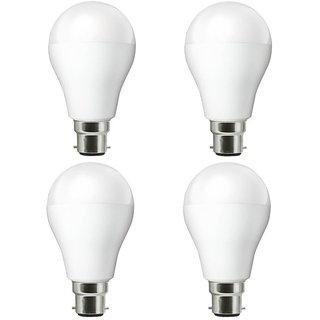 NIPSER 7 Watt Premium Led Bulbs 800- 1000 lumens (Pack of 4) with 1 year warranty