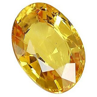 100 Original Yellow Topaz 8.25 ratti Yellow Topaz Stone certified Semi- Precious Loose Yellow Topaz Stone Jaipur Gemstone
