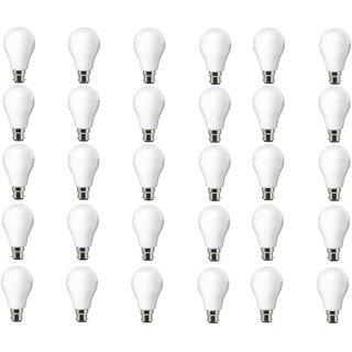 NIPSER 7 Watt Premium Led Bulbs 800- 1000 lumens (Pack of 30) with 1 year warranty