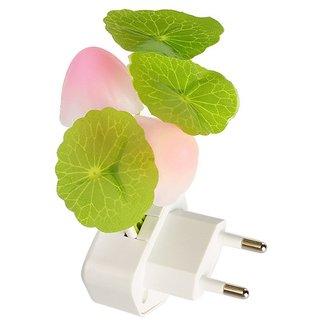 Stylish Colorful Energy Saving Flower Mushroom LED Night Light Sensor Control Lamp Bedside Wall Multi Color Light