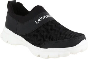 LEO Walking Shoes For Men  (Black)