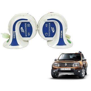 Auto Addict Mocc Car 18 in 1 Digital Tone Magic Horn Set of 2 For Renault Duster