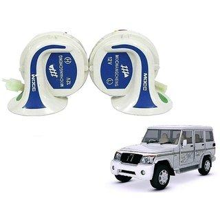 Auto Addict Mocc Car 18 in 1 Digital Tone Magic Horn Set of 2 For Mahindra Bolero XL