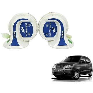 Auto Addict Mocc Car 18 in 1 Digital Tone Magic Horn Set of 2 For Hyundai Santro