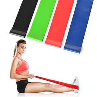 Bloomun Exercise Band, Loop Bands, Stretch Band for Exercise, Legs, Gym, Workout, Pull ups, - Medium Resistance