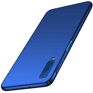 TBZ Hard Back Case Cover for Samsung Galaxy A7 (2018) -Blue