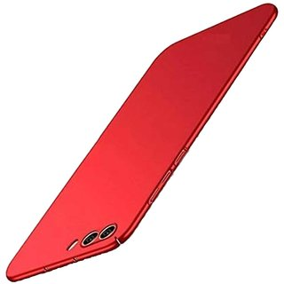 TBZ Hard Back Case Cover for RealMe C1 -Red