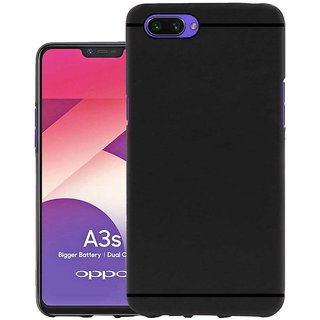 TBZ Soft TPU Slim Back Case Cover for Oppo A3s