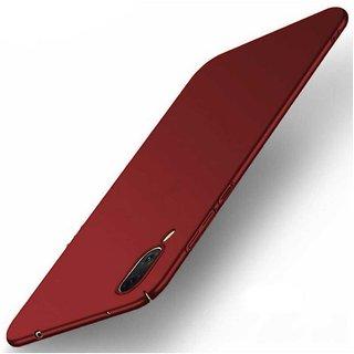 TBZ Protection Hard Back Case Cover for Vivo V11 Pro -Red