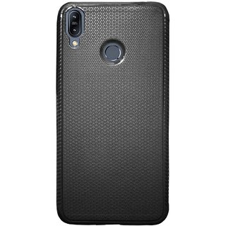 TBZ Soft TPU Slim Back Case Cover for Asus ZenFone Max M2 ZB633KL -Black