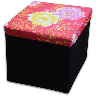 Weave Well PVC storage stool
