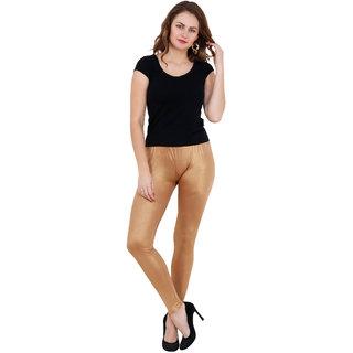 Gold Color Viscose Legging
