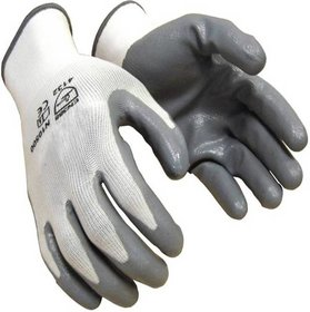 Green Home Nylon Industrial Safety Hand Gloves (Pair 1)