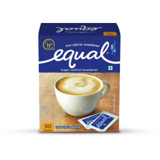 Equal Sugar Control Sachet (Aspartame 50) Pack Of 3