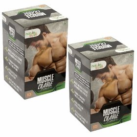 Nature Sure Muscle Charge Tablets for Men  2 Packs (2x60 Tablets)