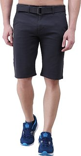 Xee Solid Men's Multicolor Chino Shorts