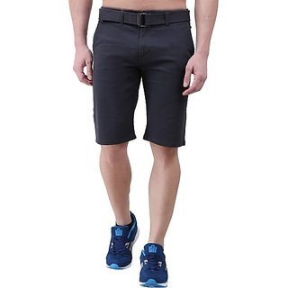 Xee Solid Men's Multicolor Chino Shorts
